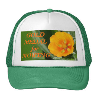 GOLD MEDAL for MOWING Trucker Hat