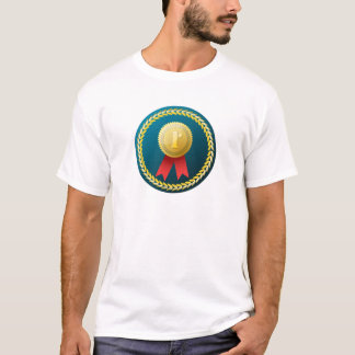 Gold Medal - No.1 first win winner prize honor T-Shirt