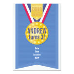 "Gold Medal Party Invitation 5"" X 7"" Invitation Card"