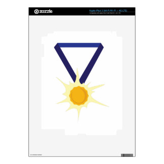 Gold Medal iPad 3 Decal