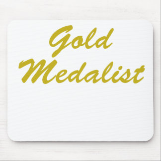 Gold Medalist Mouse Pads