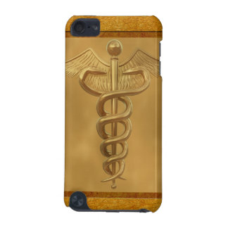 Gold Medical Caduceus iPod Touch (5th Generation) Cover