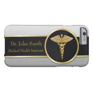 Gold Medical Caduceus - iPhone Case