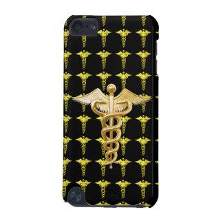 Gold Medical Caduceus iPod Touch 5G Case
