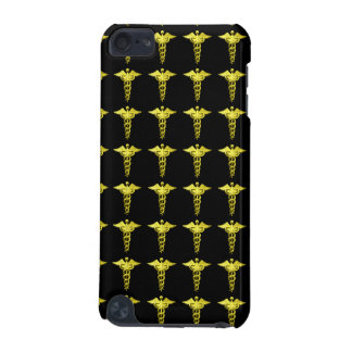 Gold Medical Caduceus iPod Touch (5th Generation) Case