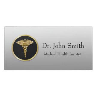 Gold Medical Caduceus - Room Sign Door Sign