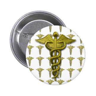 Gold Medical Profession Symbol Pin