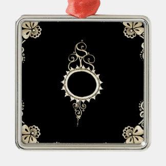 gold mehndi metal ornament