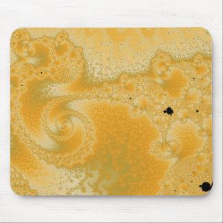 Gold Melt Mousepad