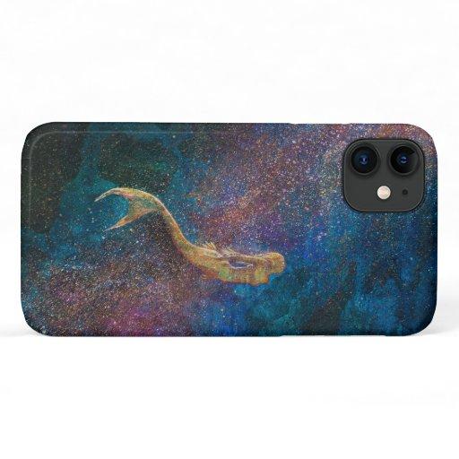 'Gold Mermaid' iPhone 11 Case