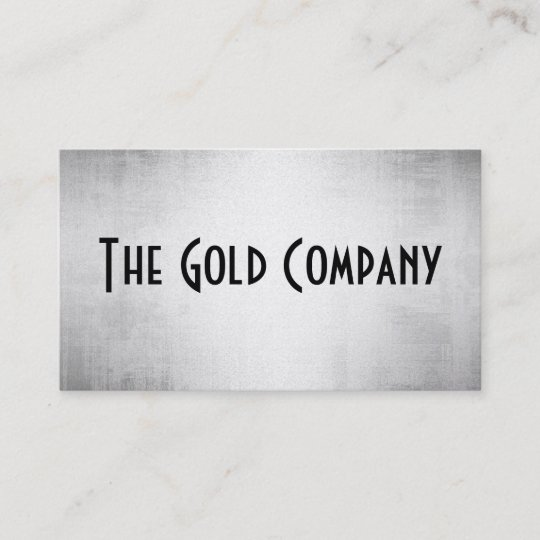 Gold metal business cards zazzle gold metal business cards colourmoves