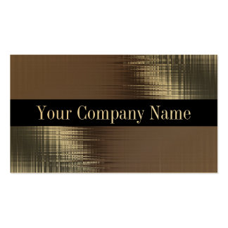 Gold Metal Look Business Cards