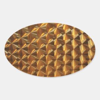 Gold Metallic Pattern Stickers