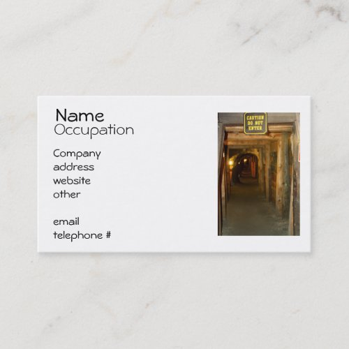 Gold Mine Business Cards