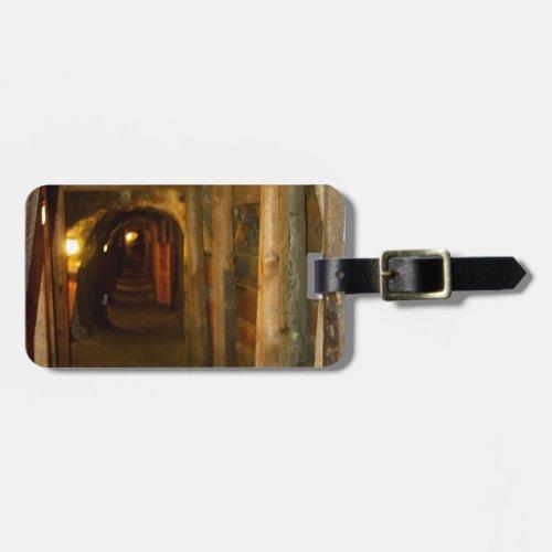 Gold Mine Luggage Tag