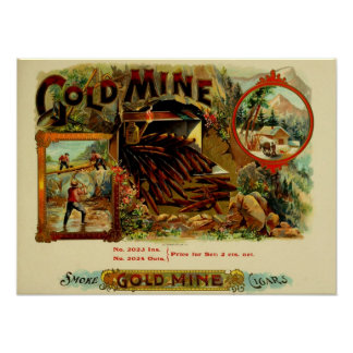 Gold Mine Poster