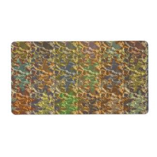 Gold Mine - Rare Earth Color Sprinkle Label
