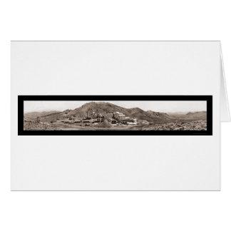 Gold Mine Rhyolite NV Photo 1908 Card