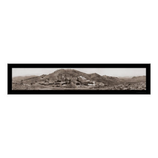 Gold Mine Rhyolite NV Photo 1908 Poster