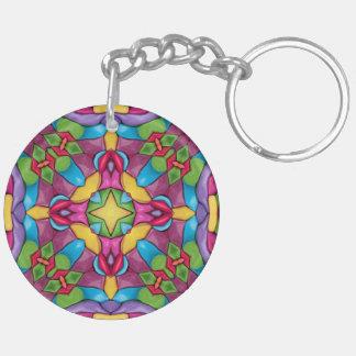 Gold Miner Kaleidoscope Acrylic Keychains 6 styles