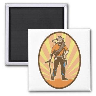 Gold Miner Magnet