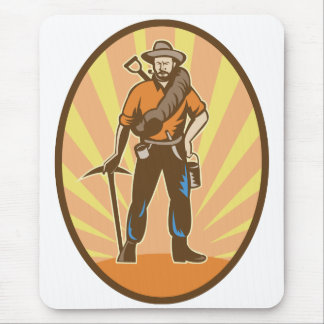 Gold Miner Mouse Pad
