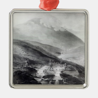 Gold Mines, County of Wicklow Metal Ornament