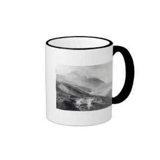 Gold Mines, County of Wicklow Ringer Coffee Mug