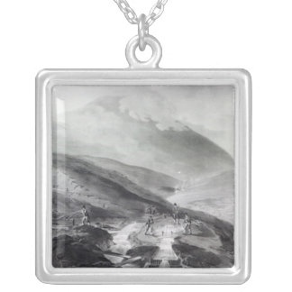 Gold Mines, County of Wicklow Silver Plated Necklace