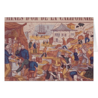 Gold Mines of California Greeting Cards