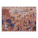 Gold Mines of California Greeting Card