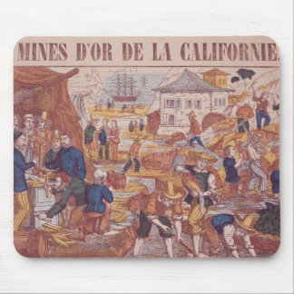 Gold Mines of California Mouse Pad