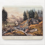 Gold Mining in California Mouse Pad