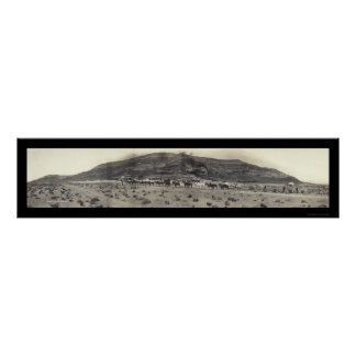 Gold Mining Mill NV Photo 1908 Poster
