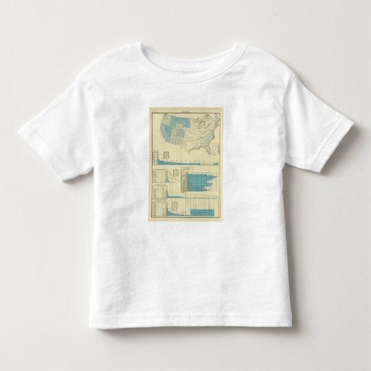 Gold mining regions toddler t-shirt