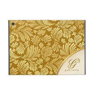 Gold Monogram Folio iPad Mini iPad Mini Cases