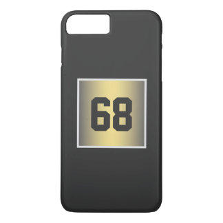 gold monogram iPhone 8 plus/7 plus case