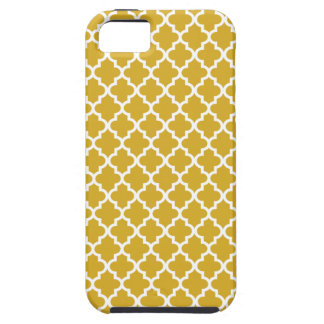 Gold Moroccan Pattern iPhone 5 Case
