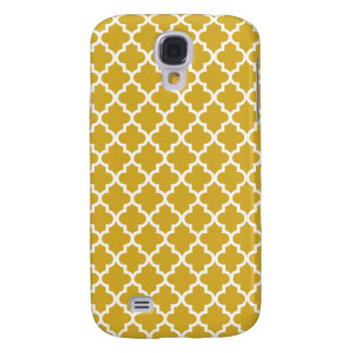 Gold Moroccan Pattern Galaxy S4 Case