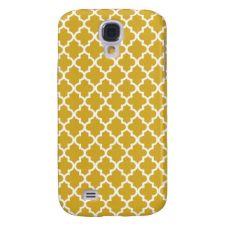 Gold Moroccan Pattern Samsung Galaxy S4 Cover