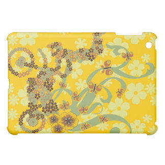 Gold Mosaic Biking iPad Mini Case