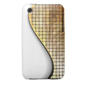 Gold Mosaic iPhone 3 Covers