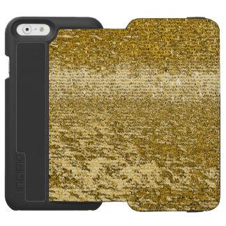 Gold mosaic pattern incipio watson™ iPhone 6 wallet case