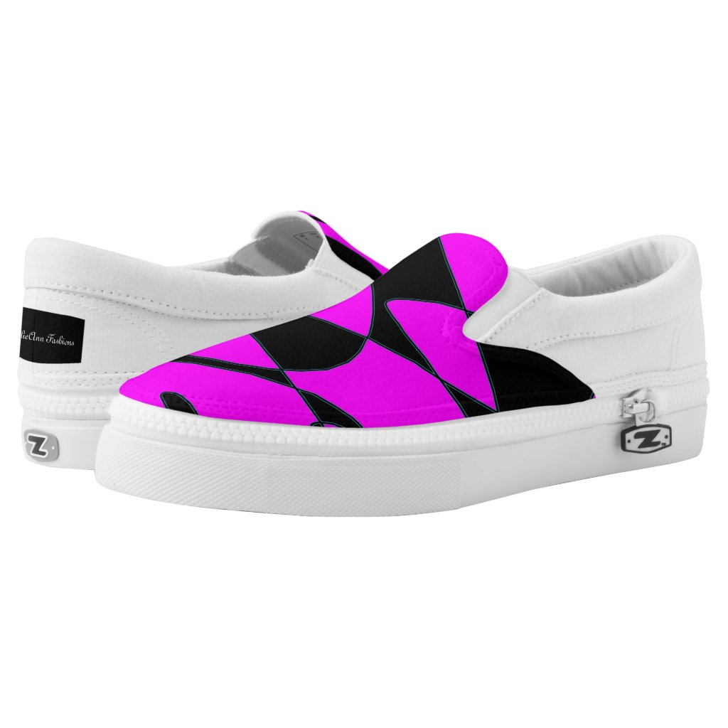 Gold Movements Slipon Shoes