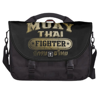 Gold Muay Thai Fighter Commuter Bag