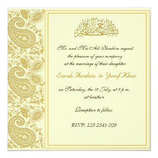 Red Gold Wedding Invitations as best invitation example
