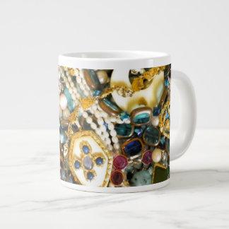 Gold 'N Ivory Large Coffee Mug
