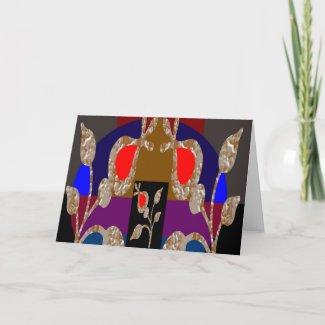 Gold n Silver Jewels: Happy Birthday Inside card
