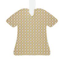Gold Netting Pattern Ornament