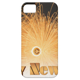 Gold New Year Fireworks iPhone SE/5/5s Case
